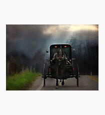 The Road Less Traveled Photographic Print