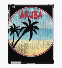Aruba Vacation Palm Trees Aruban Caribbean Beach Trip  iPad-Hülle & Klebefolie