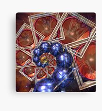 Sphere and Bowl Spiral Canvas Print