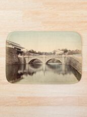 Mikado Palace bridge, Tokyo Bath Mat