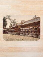 Temple at Shiba, Tokyo Bath Mat