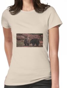 Bears Womens Fitted T-Shirt