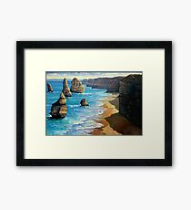 12 Apostles, Great Ocean Road Australia Framed Print