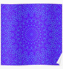 Lilac Lace Poster