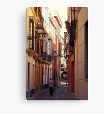 Streets of Seville - Spain  Canvas Print