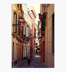 Streets of Seville - Spain  Photographic Print