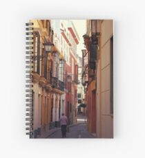 Streets of Seville - Spain  Spiral Notebook