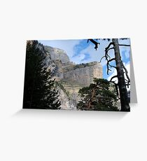 Ordessa valle, Spanish Pyranees Greeting Card