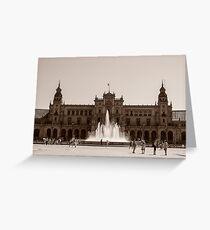 Plaza de Espana - Seville Greeting Card