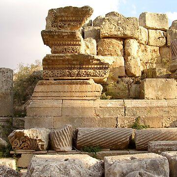 Echoes - Jerash, Jordan by Laliibeans