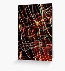 Suburb Christmas Light Series - Xmas 3hree Greeting Card