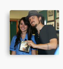 A Day With John Butler Metal Print