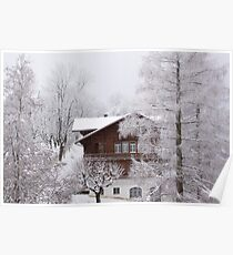Christmas Chalet Poster