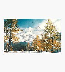 Winter in Austria Photographic Print