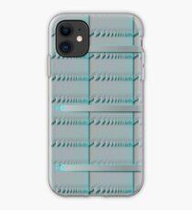 Spiral Metal Panel iPhone Case