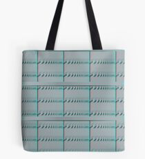 Spiral Metal Panel Tote Bag