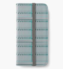 Spiral Metal Panel iPhone Wallet/Case/Skin