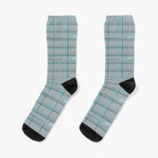 Spiral Metal Panel Socks
