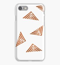 Lines Copper iPhone Case/Skin
