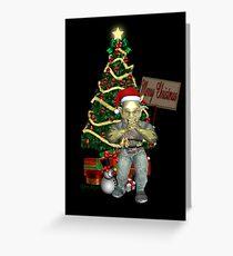A Creepy Merry Christmas Greeting Card