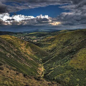 long mynd barren valley by markbailey74