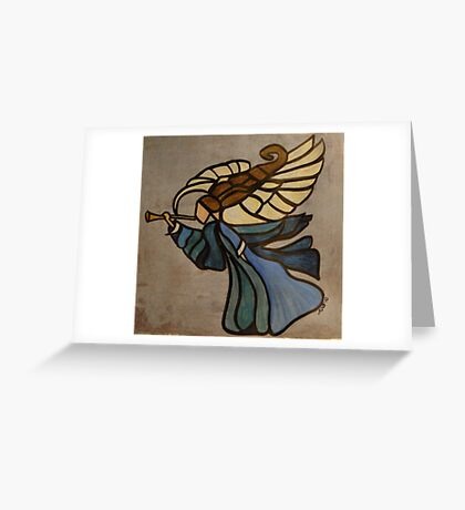 Gabriel's Horn Does Sound Greeting Card