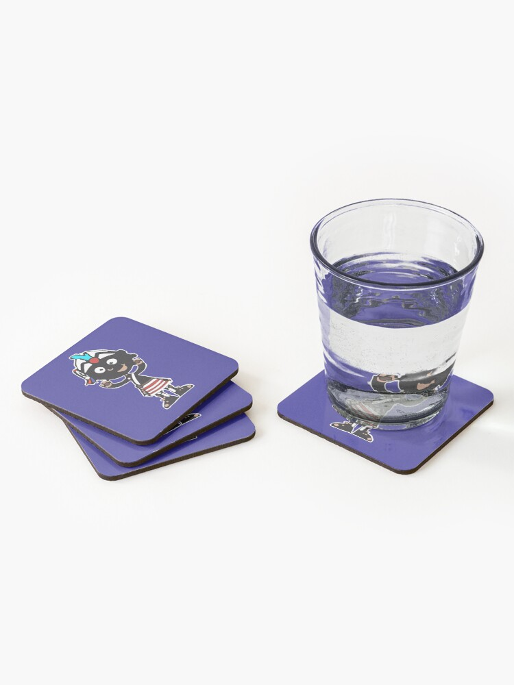 Alternate view of Mascot Coco-nutter Coasters (Set of 4)