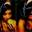 Eating The Apple, I'm A Fake. by Fuschia