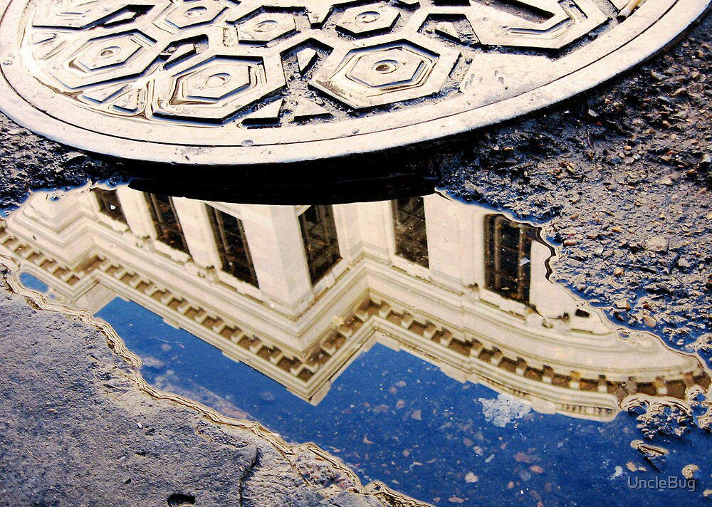 Supreme Court Reflection on Chartres Street by UncleBug