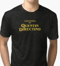 Inglourious Basterds | Tarantined by Quentin Directino Tri-blend T-Shirt