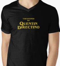 Inglourious Basterds | Tarantined by Quentin Directino V-Neck T-Shirt