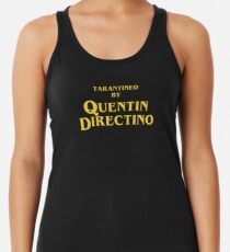 Inglourious Basterds | Tarantined by Quentin Directino Racerback Tank Top