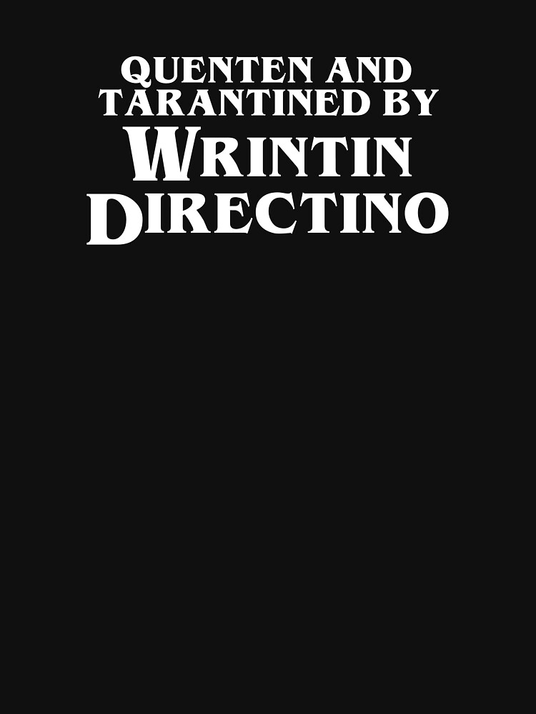 Pulp Fiction | Quenten and Tarantined by Wrintin Directino by directees