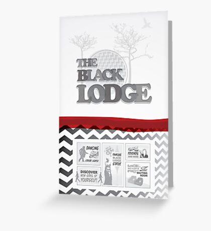 The Black Lodge Greeting Card