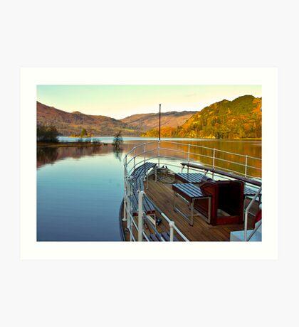 I am Sailing (Ullswater) Art Print