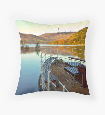 I am Sailing (Ullswater) Throw Pillow