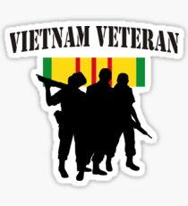 Vietnam Veteran T-Shirt Sticker