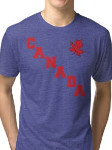 Canada Maple Leaf Tri-blend T-Shirt