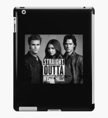 Straight Outta Mystic Falls - The Vampire Diaries iPad Case/Skin