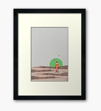 Marooned Astronaut (alone 2015) Framed Print