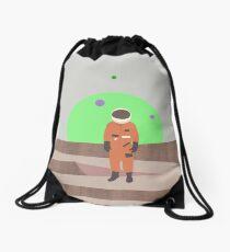 Marooned Astronaut (alone 2015) Drawstring Bag