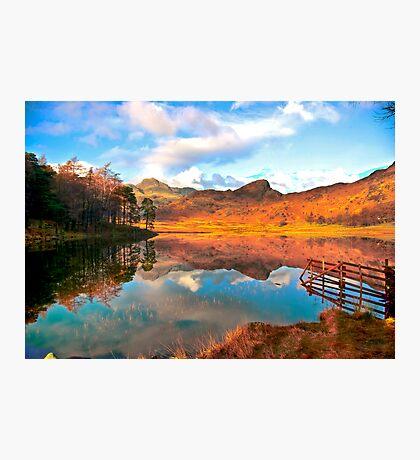 Blea Tarn - Lake District Cumbria. Photographic Print
