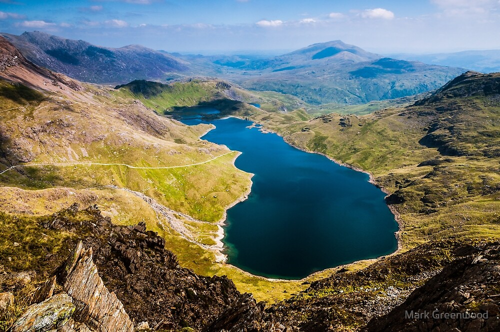 View from Snowdon by Mark Greenwood