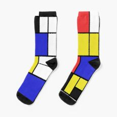 Mondrian #2 Socks