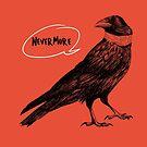 Edgar Allan Crow by panda3y3