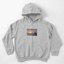 Beach Sunset Kids Pullover Hoodie