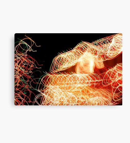 Suburb Christmas Light Series - Xmas Home Canvas Print