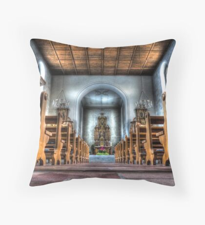 Let the little children come to me. Throw Pillow