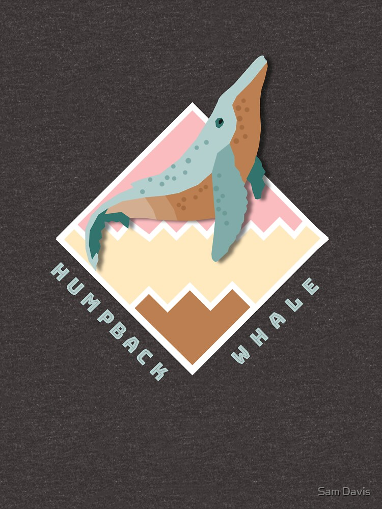 Humpback Whale Badge by reallyjustsam
