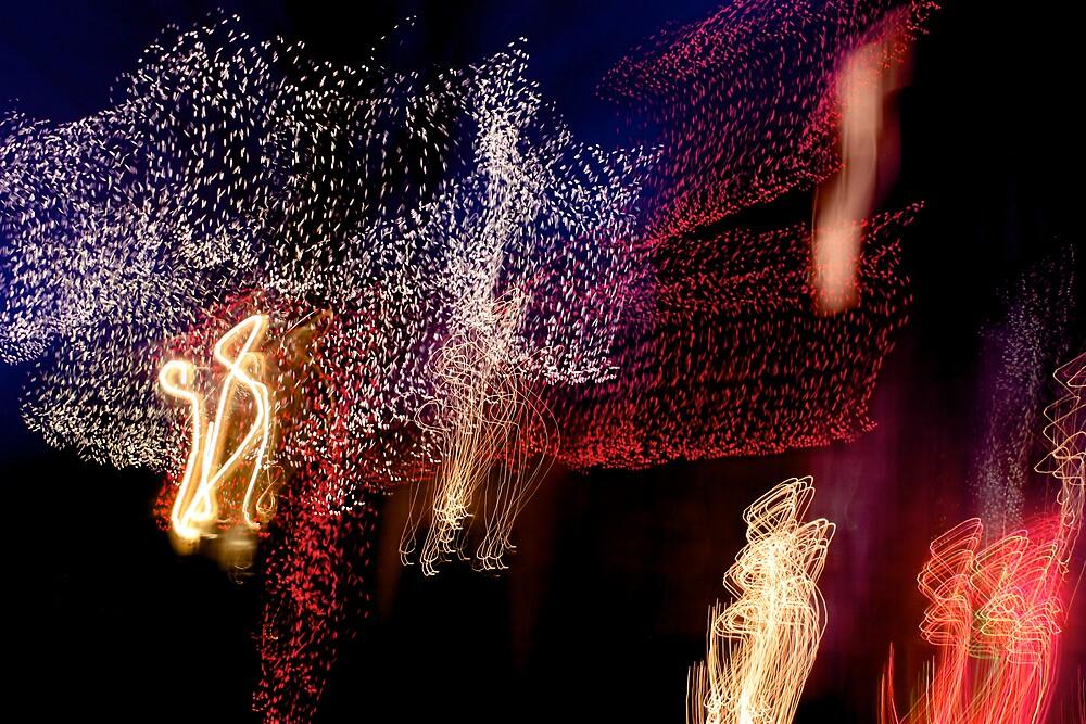 Suburb Christmas Light Series - The Shepherd's Company by David J. Hudson